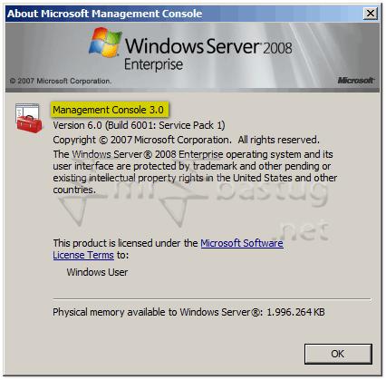 exchange server 2007 version number