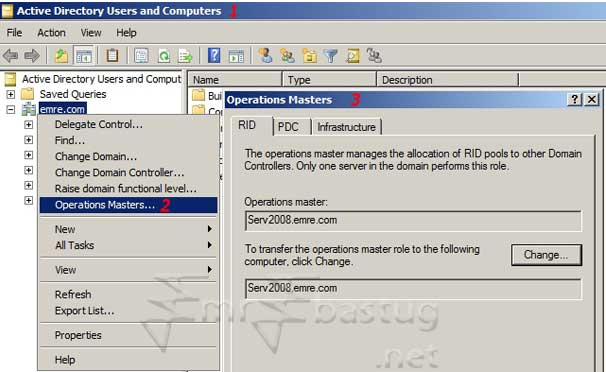 FSMO PDC Emulator